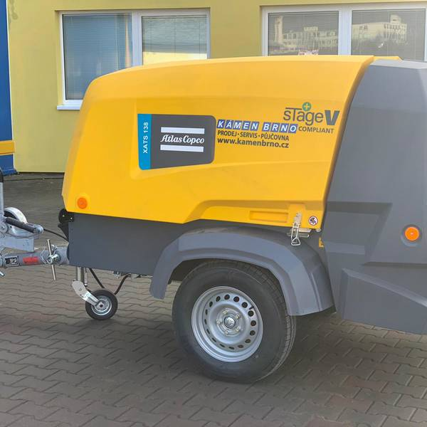 Kompresor XATS 138 StageV Atlas Copco